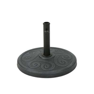 Harvey 36.46 lbs. Concrete Patio Umbrella Base in Hammered Iron