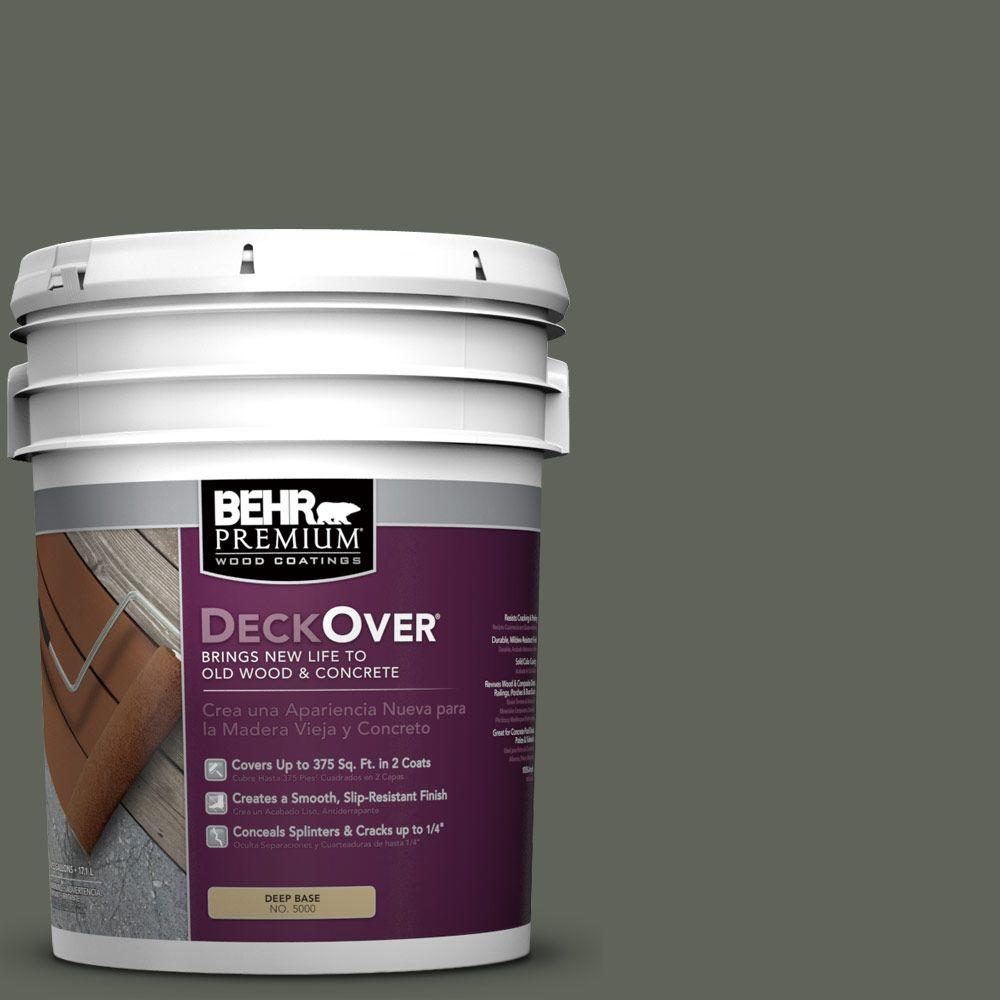 BEHR Premium DeckOver 5 gal. #SC-131 Pewter Wood and Concrete Coating