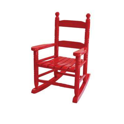 22 in. Child Rocking Chair, Red