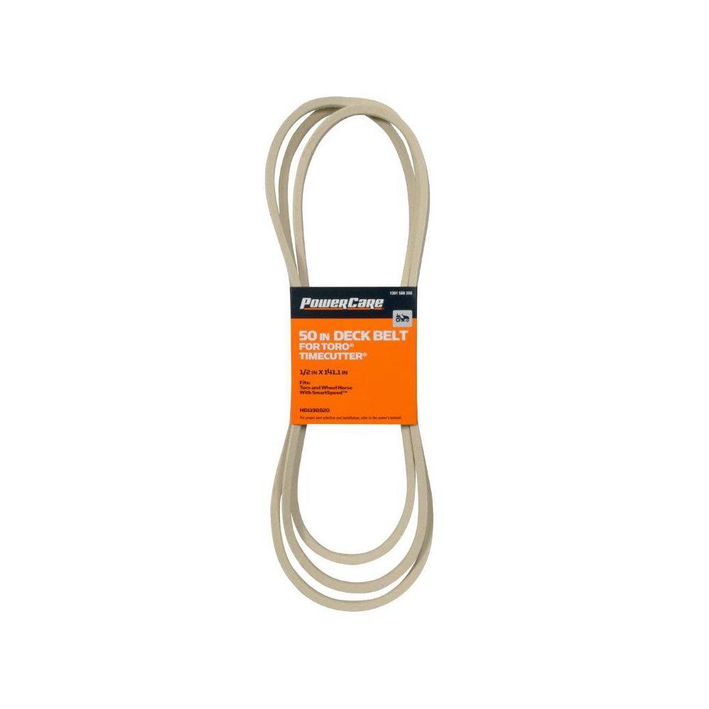 50 in. Z W Smart Speed Deck Belt