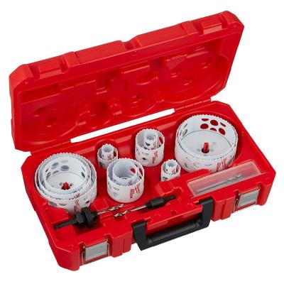 Hole Dozer General Purpose Bi-Metal Hole Saw Set (20-Piece)
