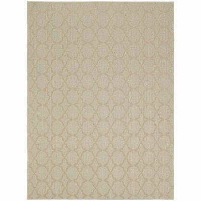 Sparta Tan 5 ft. x 7 ft. Area Rug