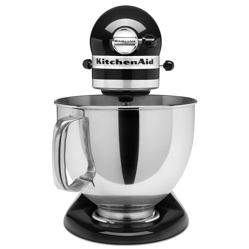 KitchenAid Artisan 5 Qt. Onyx Black Stand Mixer KSM150PSOB