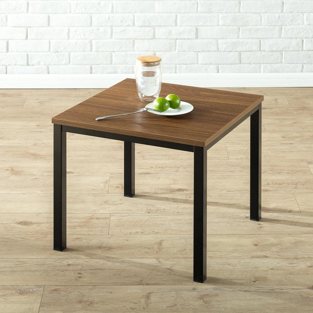 Exceptionnel Zinus Modern Studio Collection Black Soho End Table