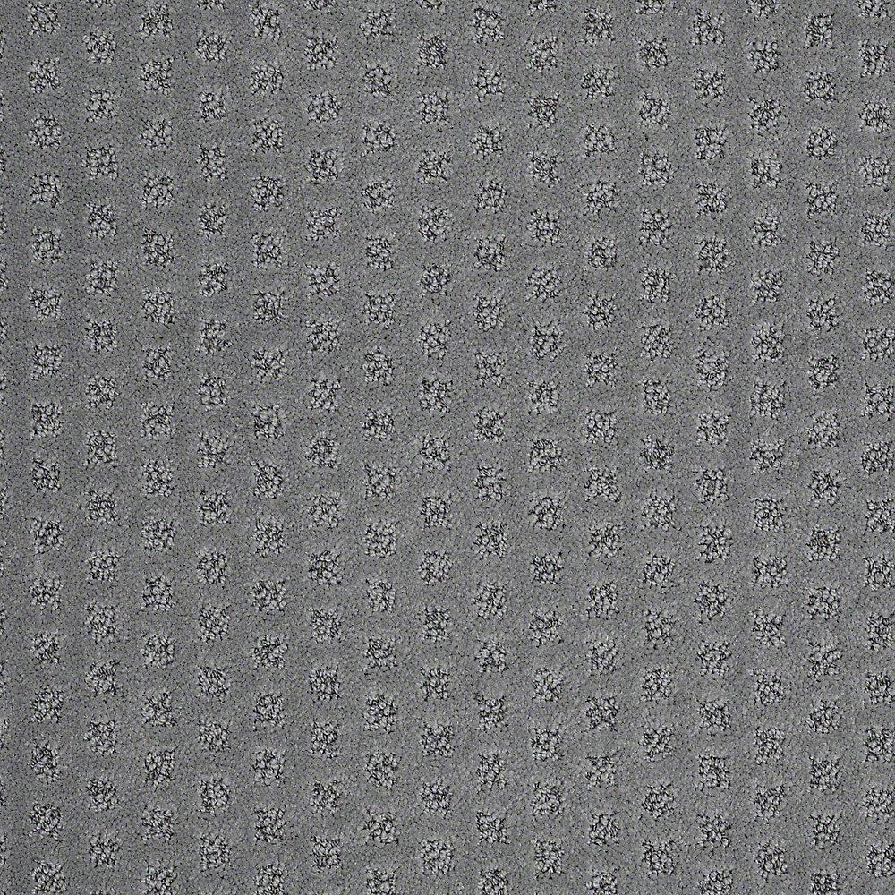 Carpet Sample - Crown - In Color Hammerhead Pattern 8 in. x 8 in.
