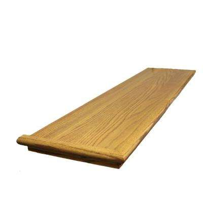0.625 in. x 11.5 in. x 48 in. Prefinished Marsh Red Oak Retread Left Return