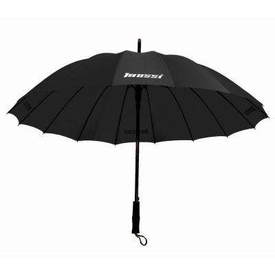 Black Deluxe Umbrella