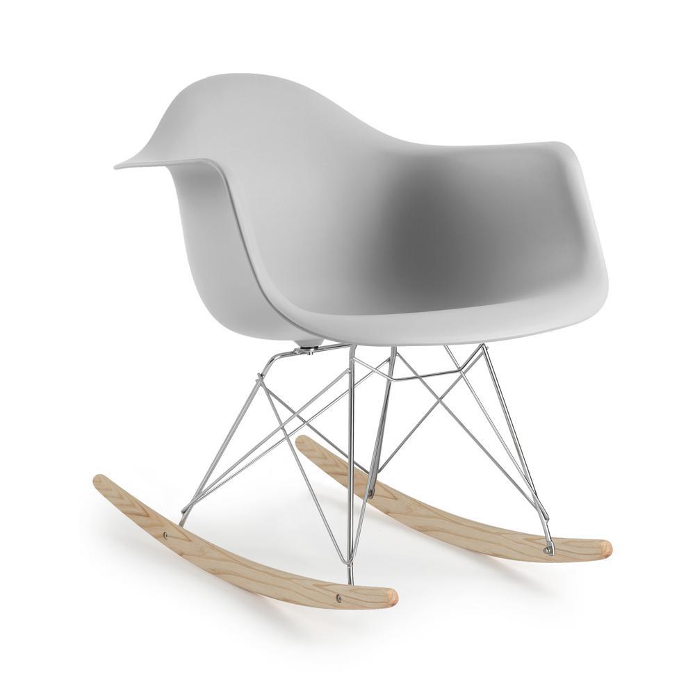 Rocker Harbor Grey Lounge Chair