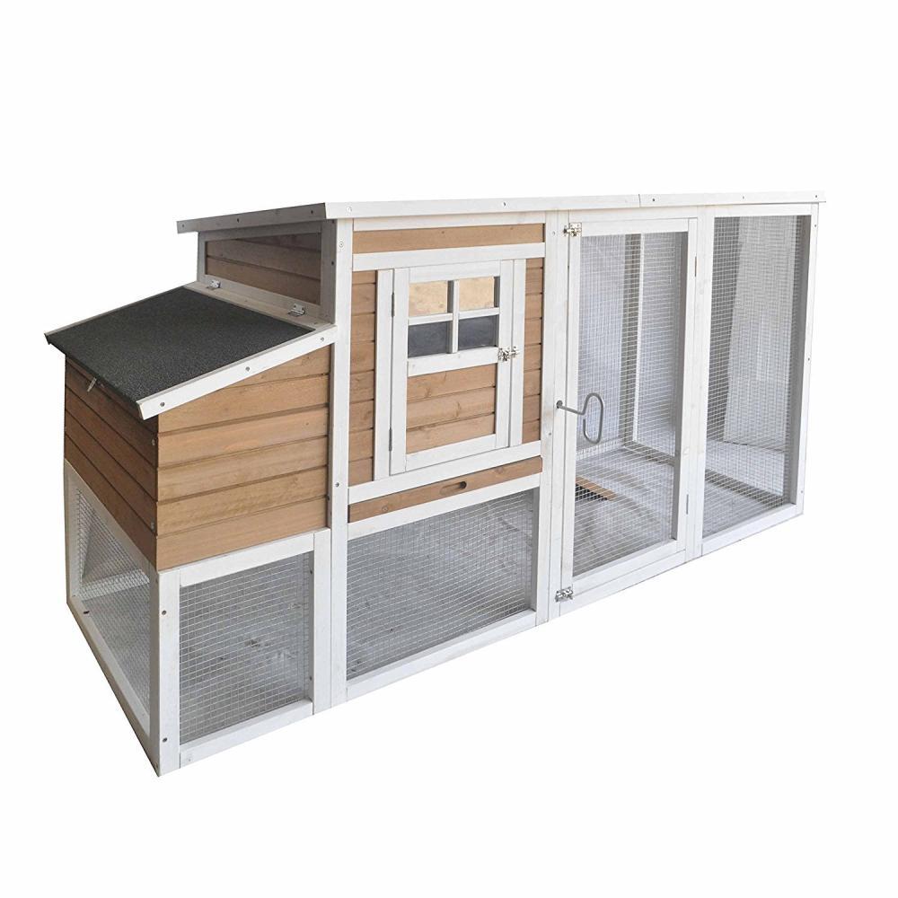 2-Story Wooden Chicken Coop