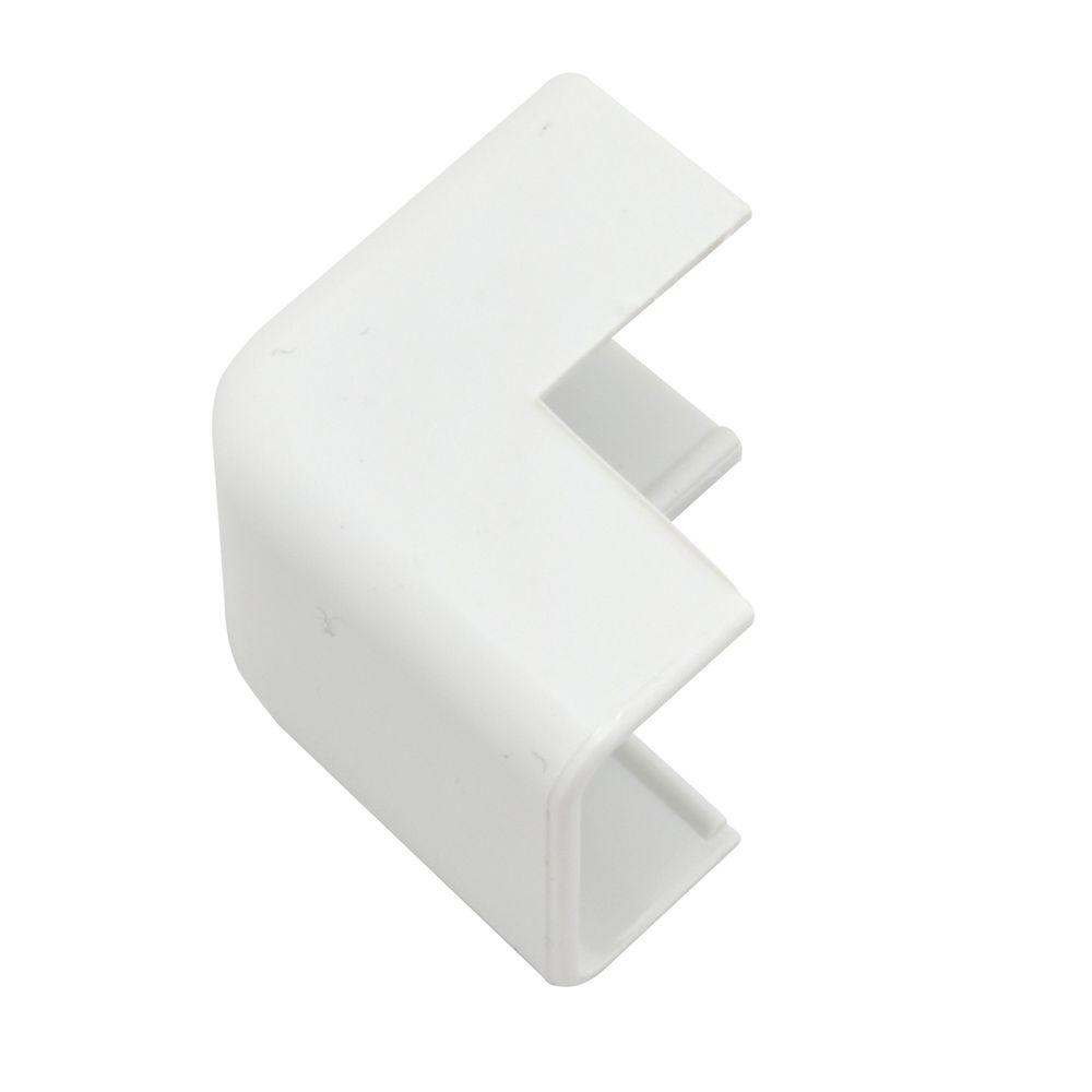 Legrand Wiremold Cordmate II Cord Cover Outside Elbow, White