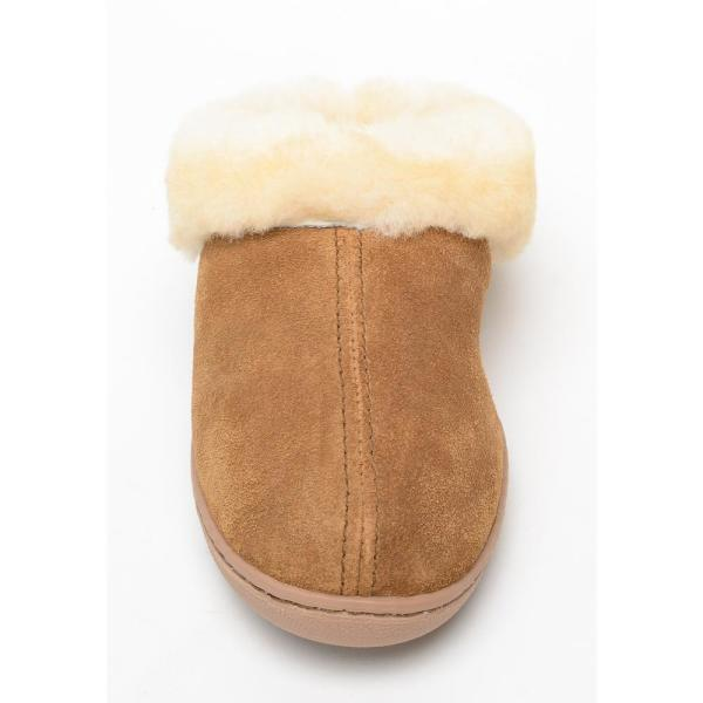 minnetonka women's sheepskin mule slipper
