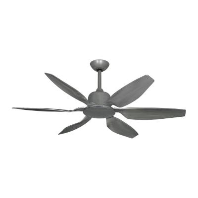 Titan II 52 in. Resin Blades Indoor/Outdoor Brushed Nickel Ceiling Fan with Remote Control