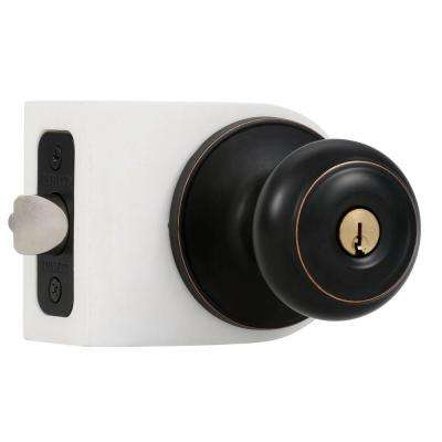 Hartford Aged Bronze Entry Door Knob