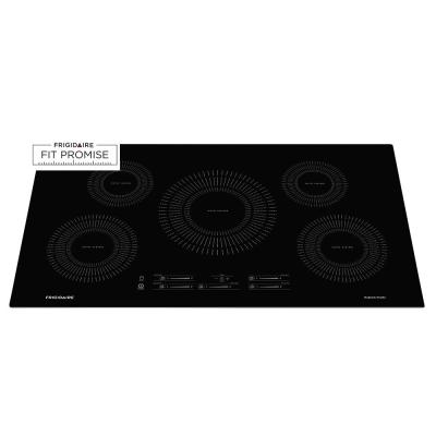 Induction Cooktop In Black With 5 Elements