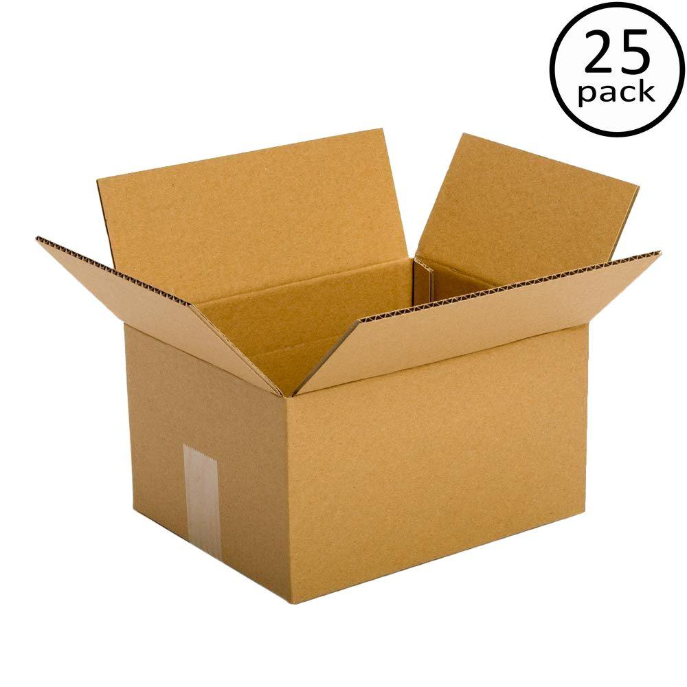 Pratt Retail Specialties 10 in. L x 6 in. W x 4 in. D Box (25-Pack)