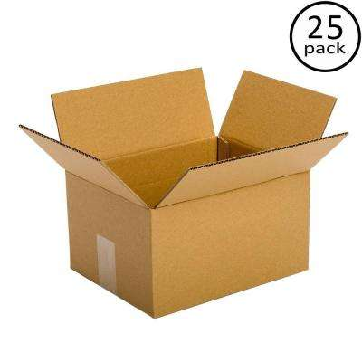 10 in. x 6 in. x 4 in. 25 Moving Box Bundle
