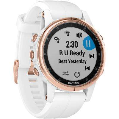 Fenix 5S Plus Sapphire Edition Rose Gold Multi-Sport GPS Watch for Smaller Wrists