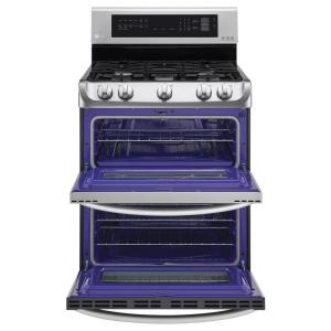 Amazing Lg Electronics 6 9 Cu Ft Double Oven Gas Range With Probake Convection Oven Self Clean And Easyclean In Stainless Steel Download Free Architecture Designs Itiscsunscenecom