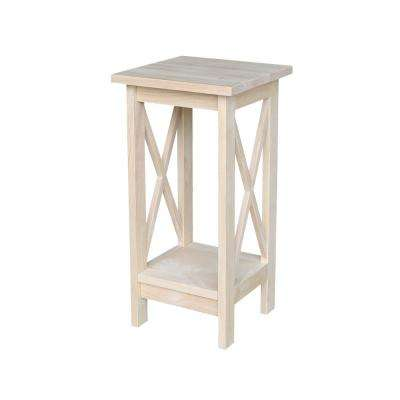 Wonderful H Unfinished Plant Stand