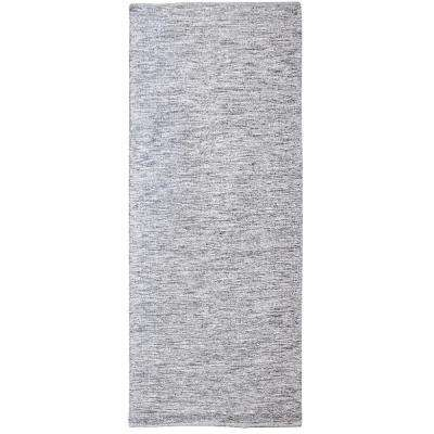 Alena Black and White 3 ft. x 8 ft. Indoor Runner Rug