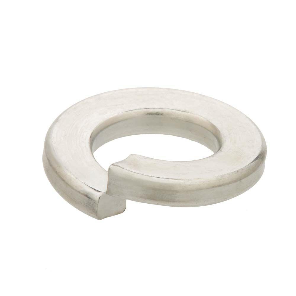 null #10 Stainless Steel Split Lock Washer (12-Pack)