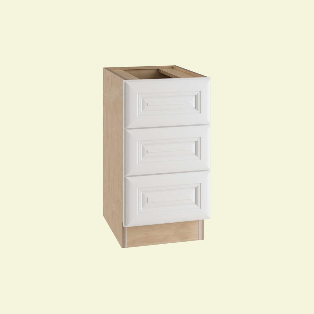 Brookfield Assembled 15x28.5x21 in. 3 Drawers Base Desk Cabinet in Pacific