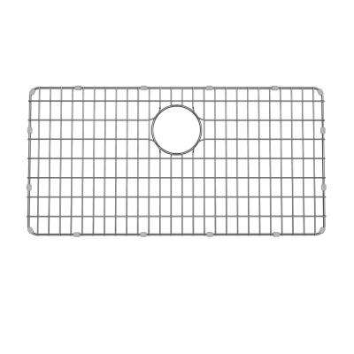 Dex 28.9 in. x 14.6 in. Kitchen Sink Bottom Grid