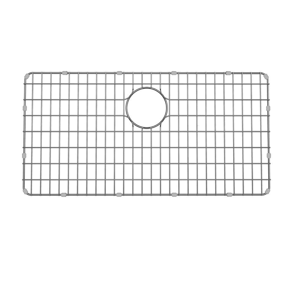 Dex 28.9 in. x 14.6 in. Kitchen Sink Bottom Grid