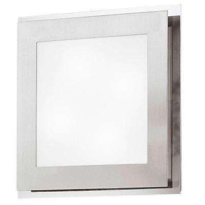 Eos 2-Light Matte Nickel Ceiling and Wall Surface Mount Light