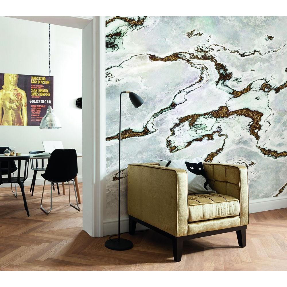 Komar 100 in. H x 145 in. W Marmoro Wall Mural