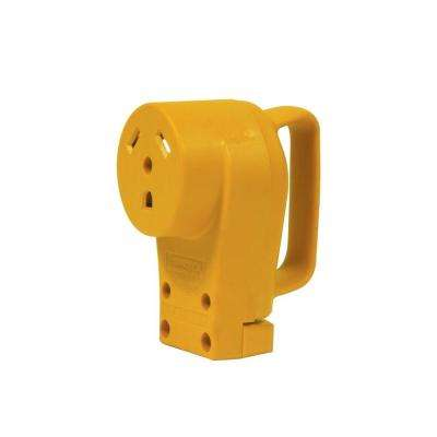 30-Amp Female Power Grip Replacement Receptacle