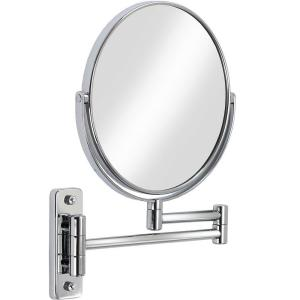 Better Living Products Cosmo 8 inch x 8 inch Wall Mirror in Chrome by Better Living Products