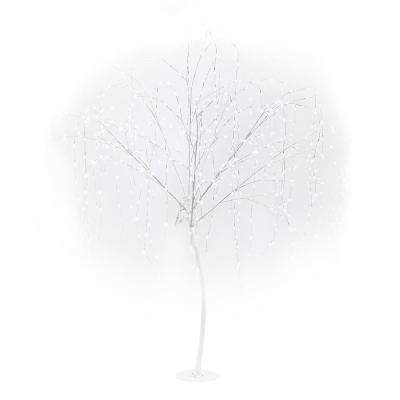86 in. Pure White LED Willow Tree