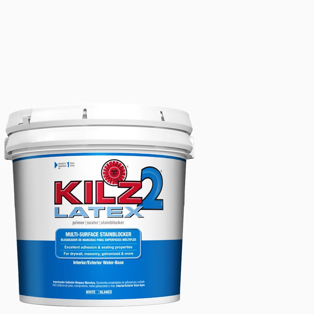 Kilz 2 kilz 2 latex 2 gal white interior exterior multi - Exterior acrylic latex stain blocking primer ...