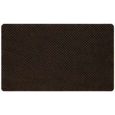 Prima Donna Chocolate 1.6 ft. x 2.6 ft. Door Mat