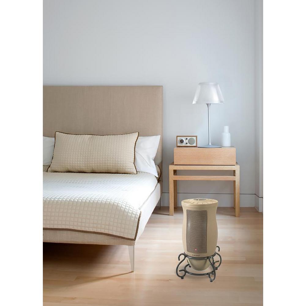 Lasko Designer Series 1500 Watt Electric Ceramic Oscillating Space Heater With Remote Control 6435 The Home Depot