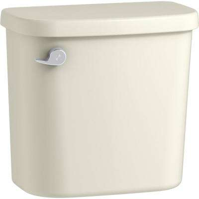 Windham 1.28 GPF Single Flush Toilet Tank Only in Biscuit