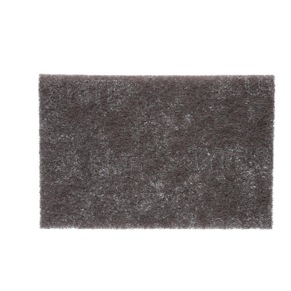 Pack of 5 3M Polishing Floor Pads 11 White 28 cm
