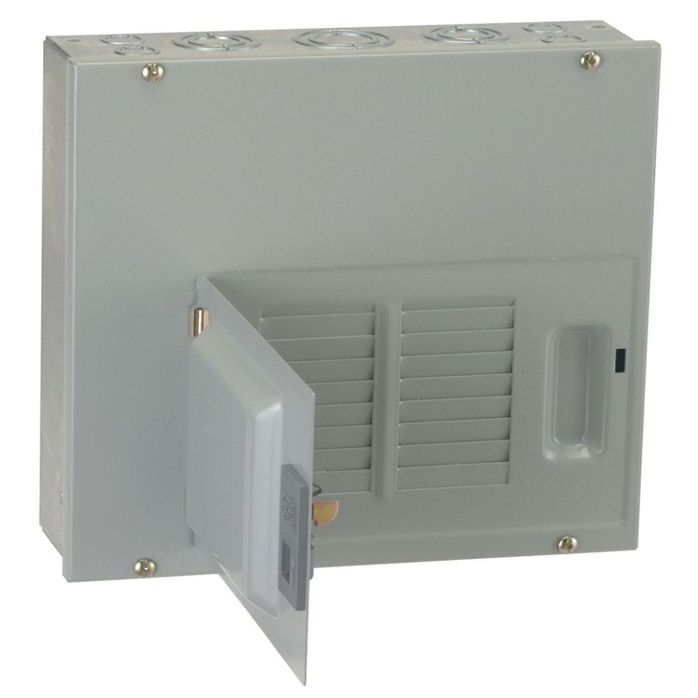 GE PowerMark Gold 125 Amp 6-Space 12-Circuit Indoor Main Lug Circuit Breaker Panel