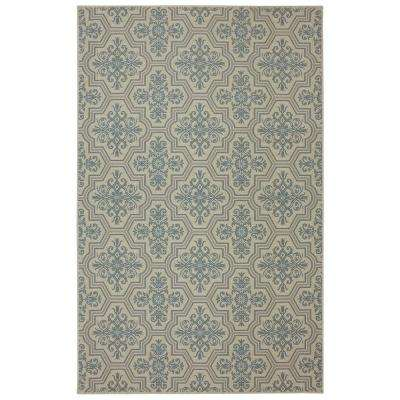 Modesto Blue 7 ft. 6 in. x 10 ft. Area Rug