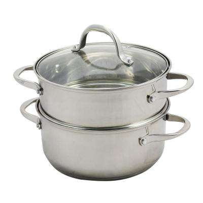 Brenta 3 Qt. Dutch Oven with Steamer Insert and Lid