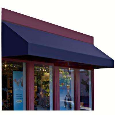 6 ft. New Yorker Window Awning (44 in. H x 24 in. D) in Navy