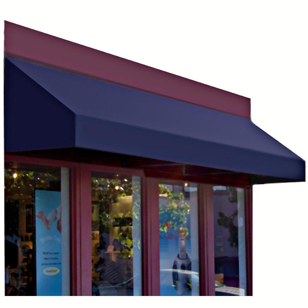 AWNTECH 8 ft. New Yorker Window/Entry Awning (56 in. H x 48 in. D) in Navy