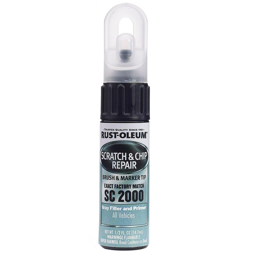 0.5 oz. Gray Filler and Primer Scratch and Chip Repair Marker
