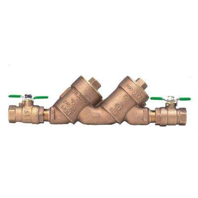 1-1/2 in. Lead-Free Double Check Valve Top Access