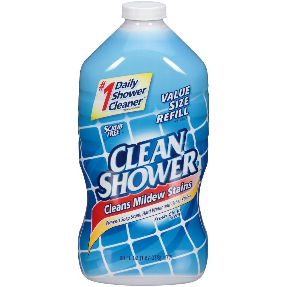 Scrub Free Oz Clean Shower Original Daily Shower Cleaner Spray - Best bathroom cleaner for hard water