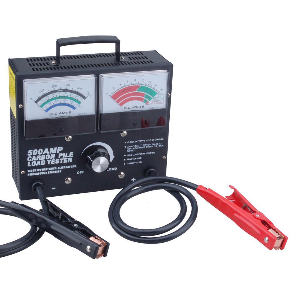 500 Amp Adjustable Load Carbon Pile Tester