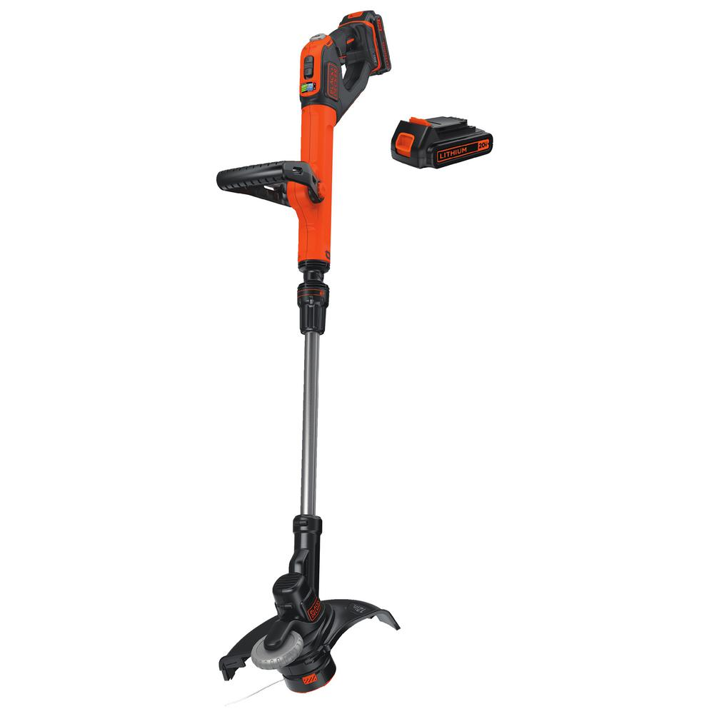 BLACK+DECKER 20-Volt Max Lithium Ion Electric Cordless 12 in. String Trimmer