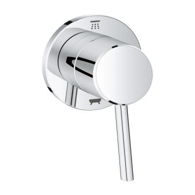 Concetto 1-Handle Diverter Valve Only Trim Kit in StarLight Chrome (Valve Sold Separately)
