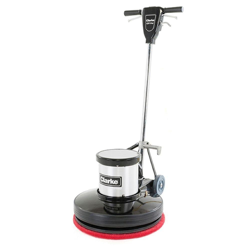 Clarke focus ii l20 disc commercial walk behind automatic for Floor scrubber